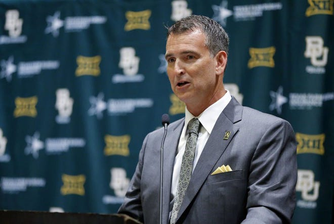 """""""We are disappointed to postpone another game,""""  Baylor athletic director Mack Rhoades says."""