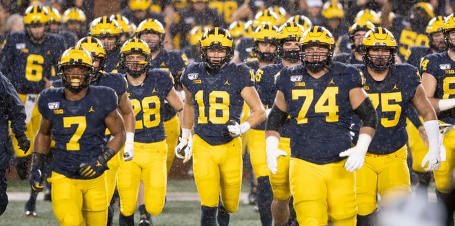 Michigan will open at Minnesota on Oct. 24, with kickoff at 7:30 p.m.