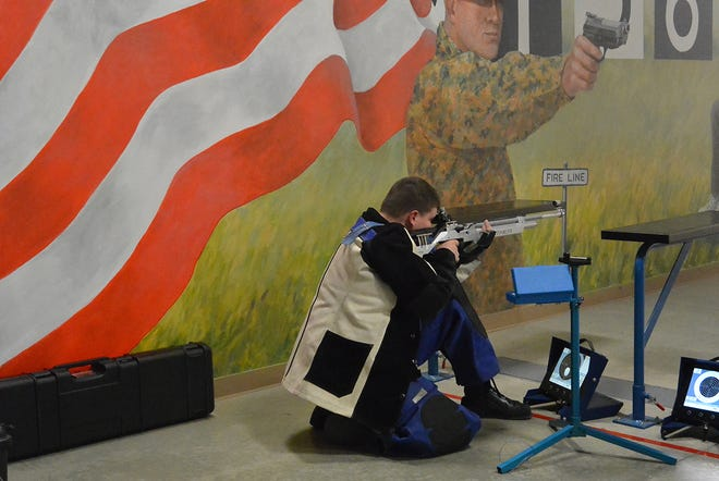 CMP is hosting a photography contest for youth involved in shooting sports such as the Junior Air Rifle event.