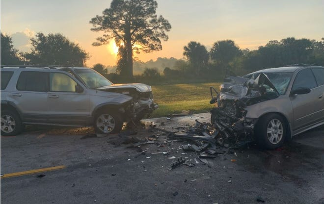 Police said  a Cape Coral  man was driving a 2002 Ford Explorer south on Burnt Store Road about 3:40 a.m.  Sunday, Oct. 11, 2020, when he swerved into the path of a 2005 Nissan Ultima driven by Dwight H. Reynolds, of Port Charlotte, who was heading north. Reynolds passenger died.
