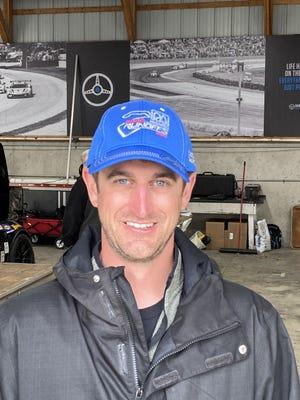 Greenfield race car driver Michael Bordenn