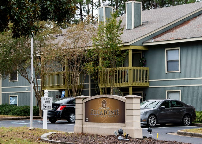 Zelda Pointe Apartments are seen in Montgomery, Ala., on Monday October 12, 2020.