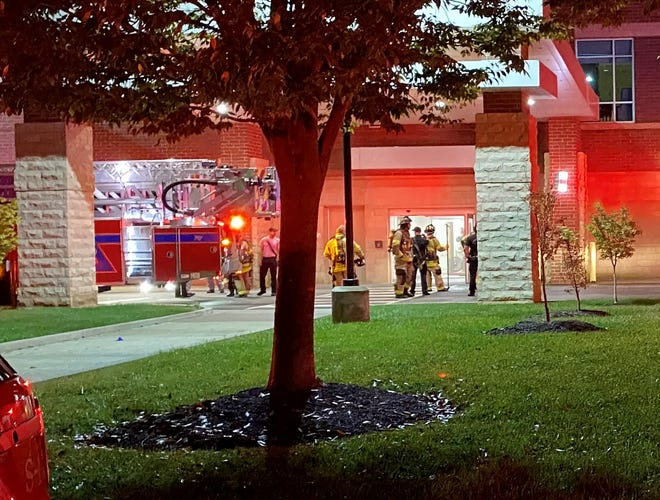 The department responded to a call Sunday, Oct. 11, 2020 at Saint Thomas Rutherford Hospital in Murfreesboro after medical oxygen wasset on fire by a patient, authorities said.