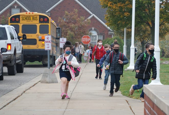 Students in the Farmington Public Schools district won't go back to in-person learning until 2021.