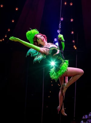 The Green Fairy at Absinthe at Caesars Palace.