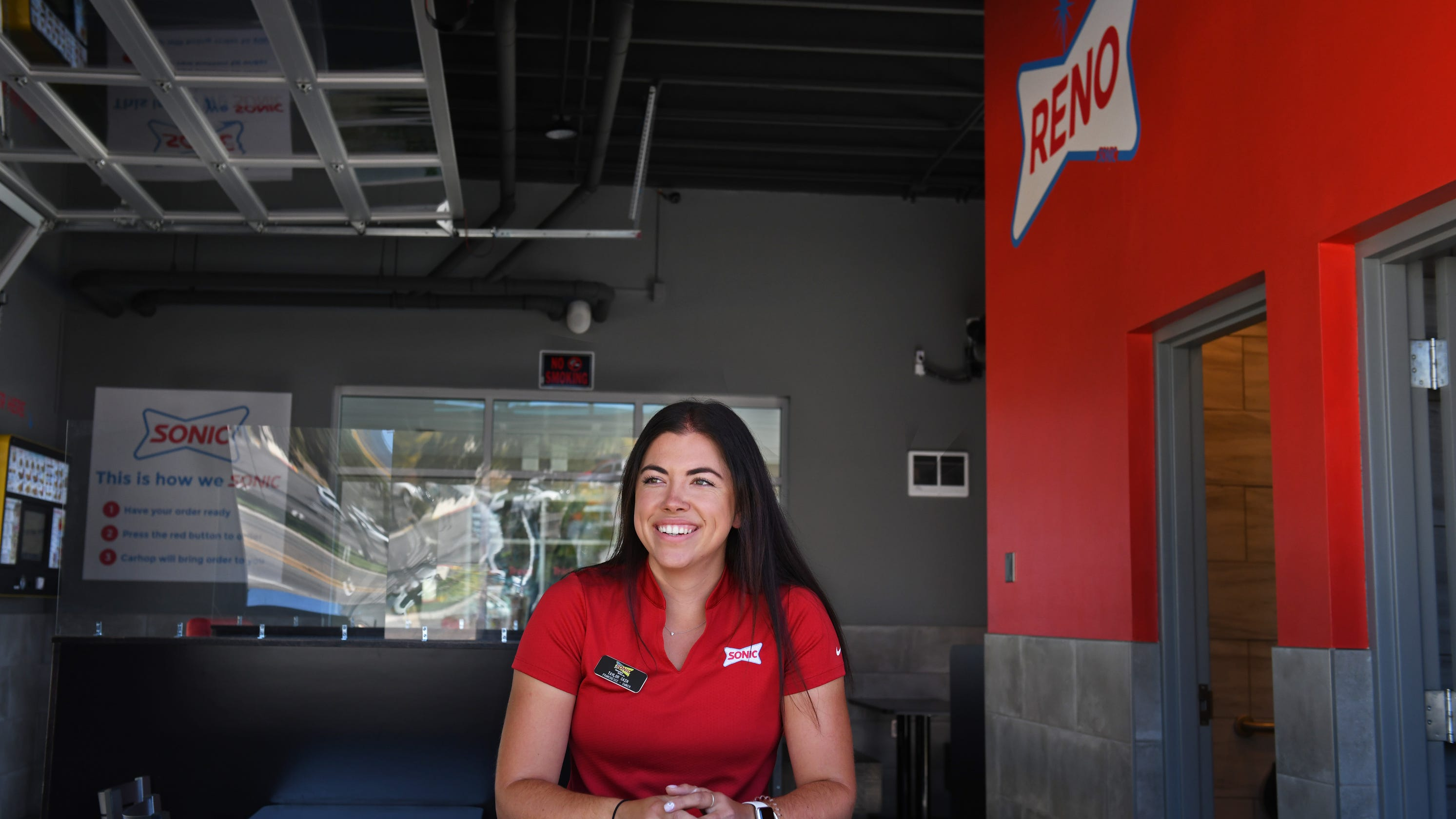 The 26-year-old owner of all local Sonic Drive-Ins opens her first South Reno restaurant