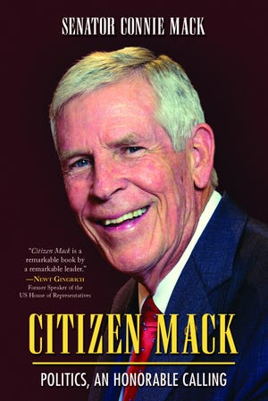 """Citizen Mack,"" a memoir by Senator Connie Mack."