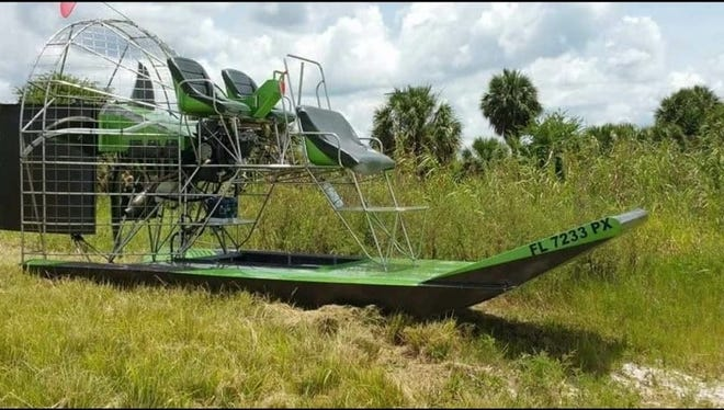 The Airboat, Buggy and Side-by-Side Show is scheduled for Saturday at Fox Brown Outfitters, a 4,000-acre hunting preserve in western Martin County.