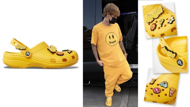 Bieber crocs are launching today—here's what to know