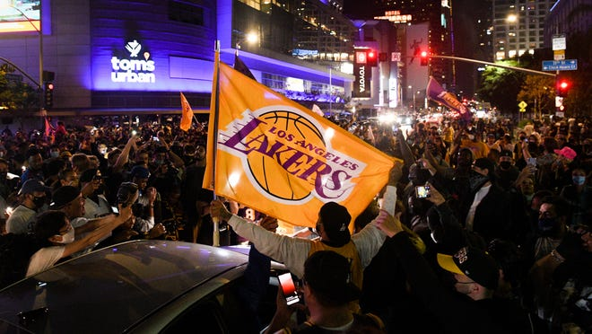 Los Angeles Lakers Title Run May Have Contributed To Covid 19 Surge