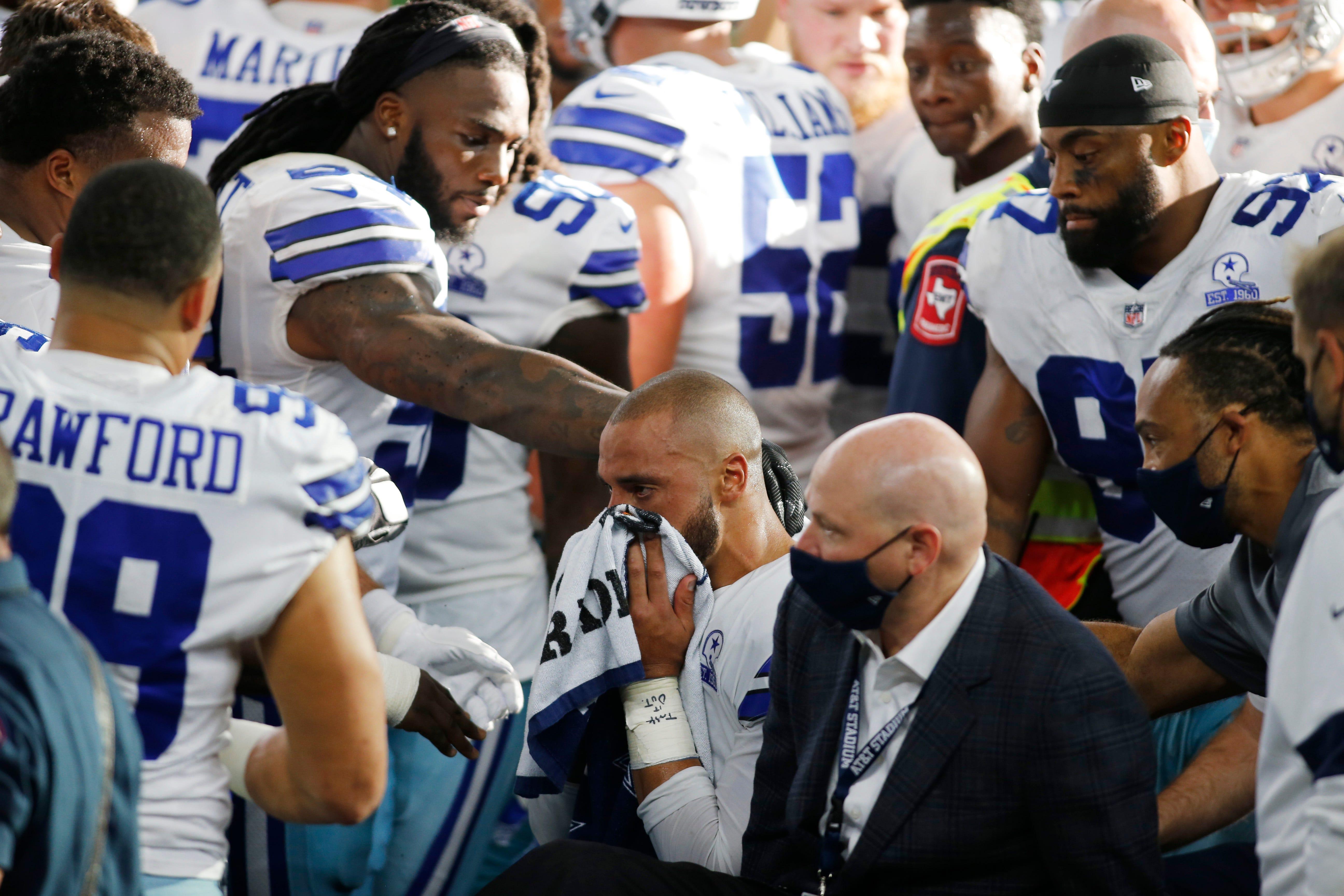 Opinion: Jerry Jones has plenty to set right with Dak Prescott after Cowboys QB's injury