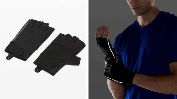 Best health and fitness gifts 2020: Lululemon License to Train gloves