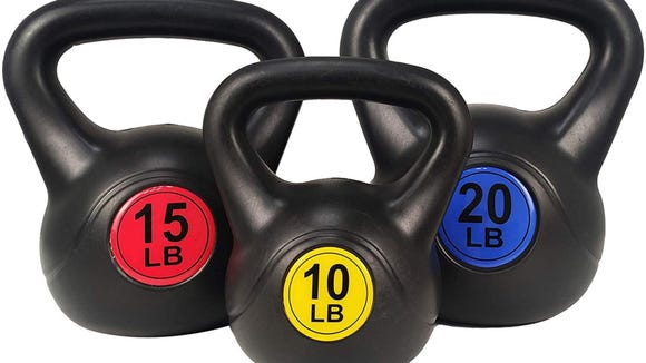 Best health and fitness gifts 2020: BalanceFrom kettlebell set