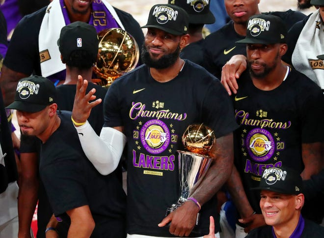 With Lakers title, LeBron James knows always something to prove