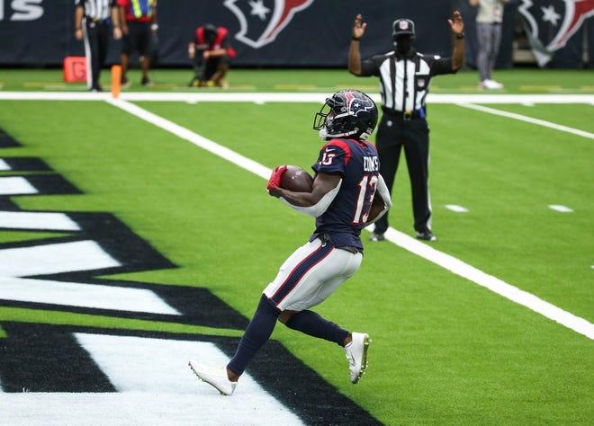 El receptor abierto de los Texans, Brandin Cooks, atrapó ocho pases para 161 yardas y un touchdown contra los Jaguars en la Semana 5.
