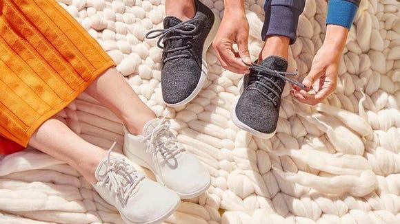 Allbirds sneakers.