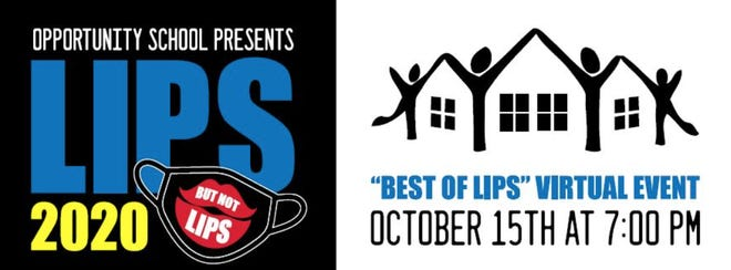 Logo for upcoming LIPS Virtual event from Opportunity School