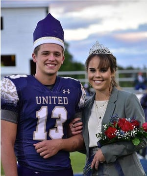 The 2020 queen is Morgan Briceland. She is the daughter of Jerry Briceland and Jodi McDaniel Briceland. The 2020 king is David Ogilvie.