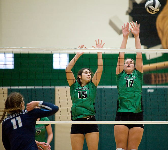West Branch's Alexa Gossett, left, is The Alliance Review's Athlete of the Week.