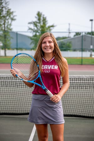 Anna Blum won the WPIAL doubles title with teammate Devyn Campbell as a sophomore and finished fourth in the singles tournament this year as a senior.