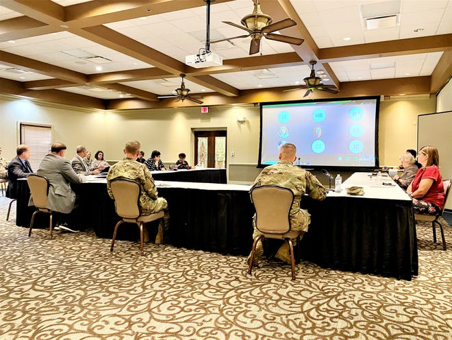 Fort Polk Leaders, Vernon Parish School Board Members, community and Pentagon stakeholders join in person and virtually on Tuesday for an Education Summit to address challenges faced by military-connected children and improve quality of life.