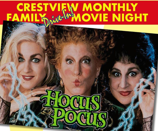 """Hocus Pocus"" is the featured movie this weekend in Crestview."