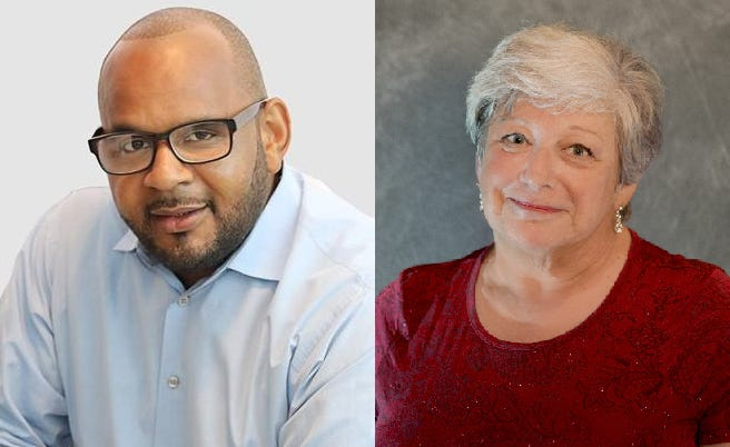 Chris Walker and Mayor Evelyn Wilson are vying for the Groveland Mayor seat.