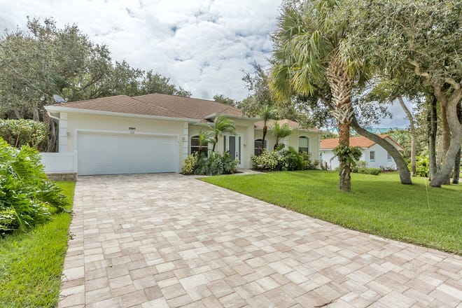 This fantastic home is located on a quiet cul-de-sac in sought-after Ponce Inlet.