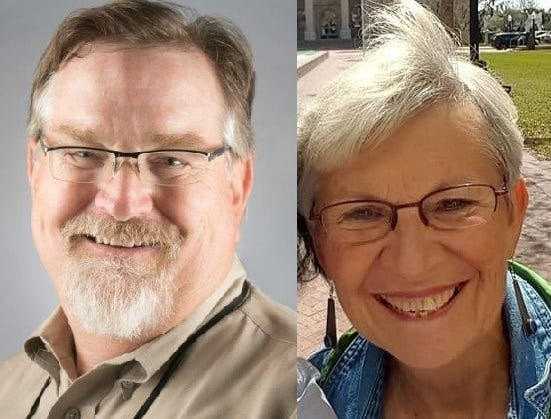 "Jim Connell and Elizabeth ""Betty"" O'Laughlin are running for Lake Helen City Commission Zone 4."