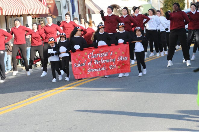 Clarissa's School of Performing Arts appeared in the 2019 Greencastle Christmas Parade. This year's parade is canceled due to COVID-19.