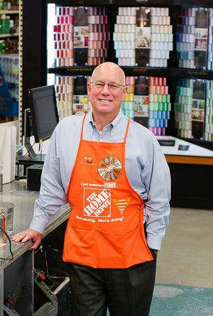 Ted Decker is the new president and chief operating officer for Home Depot.