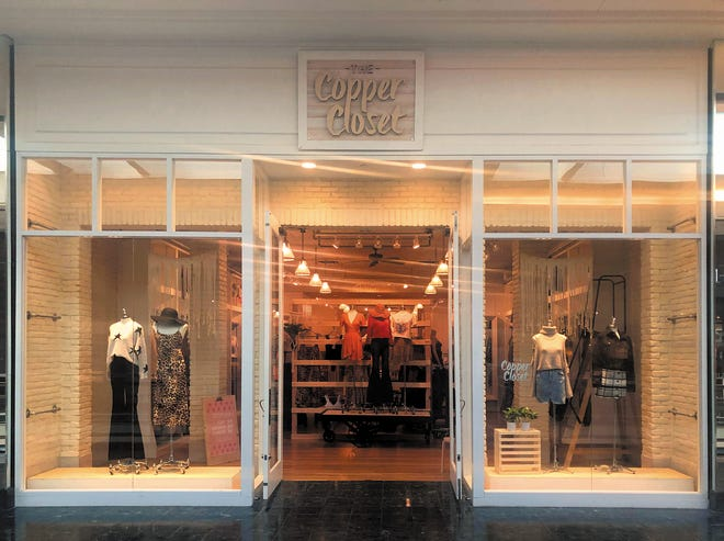 The Copper Closet has opened its first South Florida location at The Gardens Mall. The Jacksonville-based companyoffers an affordable boutique shopping experience with clothing, jewelry, accessories and game-day gear.