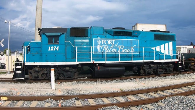 Port of Palm Beach officials say infrastructure improvements will allow it to transfer shipping containers more efficiently among trains, trucks and ships.