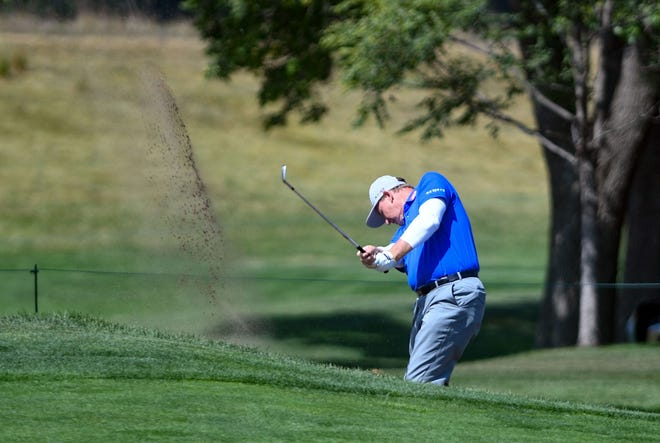 Ernie Els, shown while playing in the pro-am at the Sanford International in Sioux Falls last month, will be playing close to home as he lives in Jupiter.