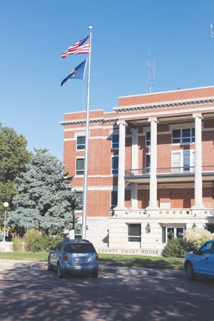 The flag pole on the west side of the Pratt County Courthouse is the place to gather for praise and prayers from 5-6 p.m. on Tuesday, October 13 in Pratt.