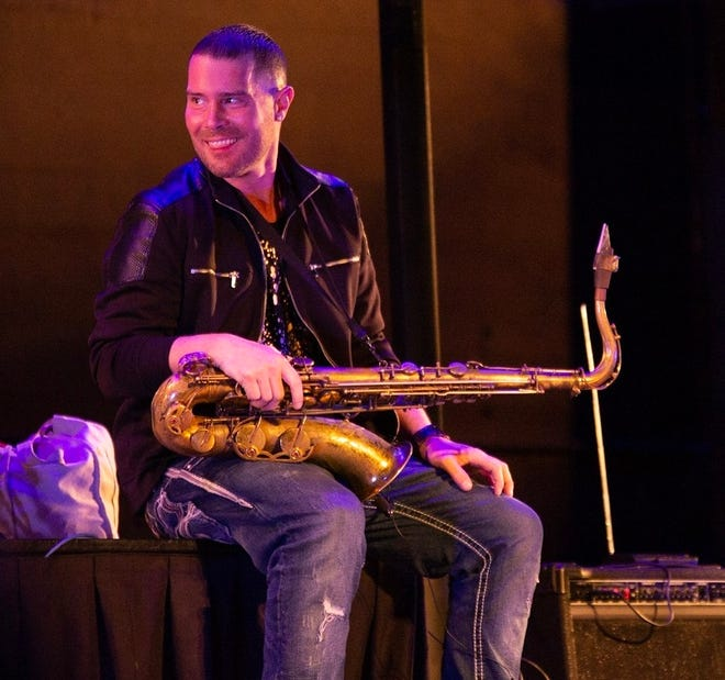 SAX TIME. Matt Corey will entertain Friday from 6:30 to 9:30 p.m. at Game Time at 5153 Tuscarawas St. W in Perry Township.