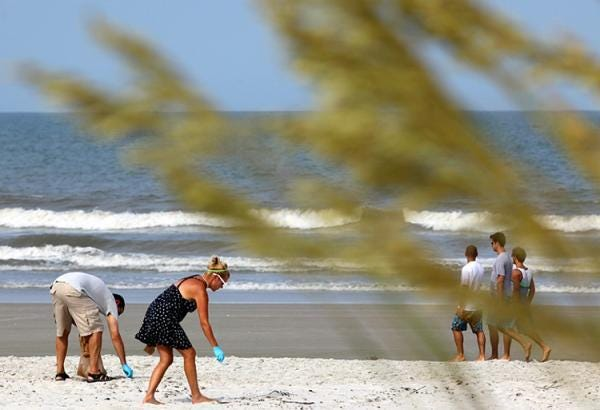 A beach cleanup will be Oct. 16 in St. Johns County near the Fishing Pier.