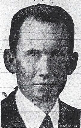 LEROY GORDON COOPER became the 10th Judicial District Judge in 1935. (photo taken from the Shawnee Morning News, January of 1935).