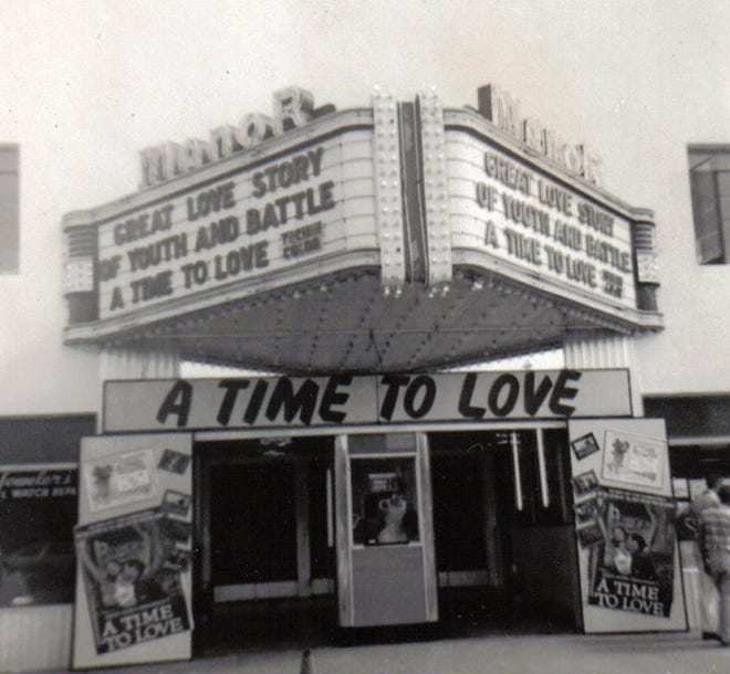 The Manor Theater, 1958: Located at 203 Market St. in Wilmington, North Carolina, the Manor was a popular place to cool off during the summer heat and see a good movie. Opened in 1941, it closed in 1985.