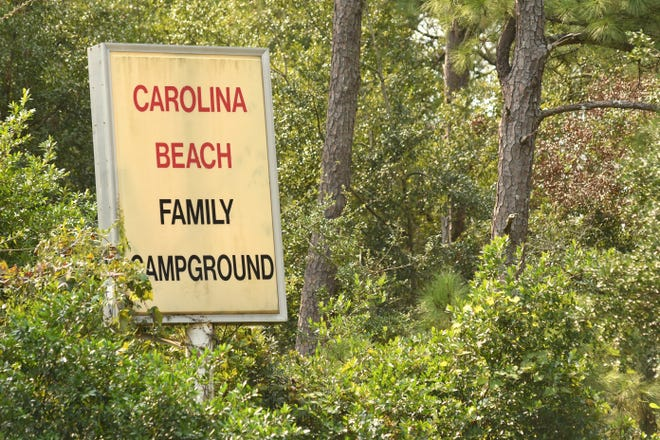 The Carolina Beach Family Campground is shutting down after more than 60 years of operation.  [KEN BLEVINS/STARNEWS]