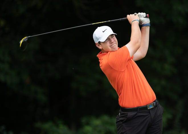 Jonathan Green's round of 73 helped Olentangy Orange win the Division I district championship Oct. 13 at Apple Valley.