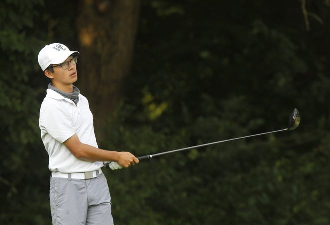 Central senior Josh Qian will compete in the Division I state tournament Friday, Oct. 23, and Saturday, Oct. 24, at Ohio State's Scarlet Course after earning district medalist honors Oct. 13 at Apple Valley.