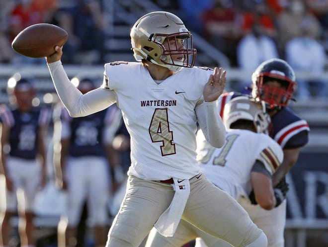 Jake Hoying and Watterson face Hamilton Township on Friday, Oct. 16, in the Division III, Region 11 playoffs.