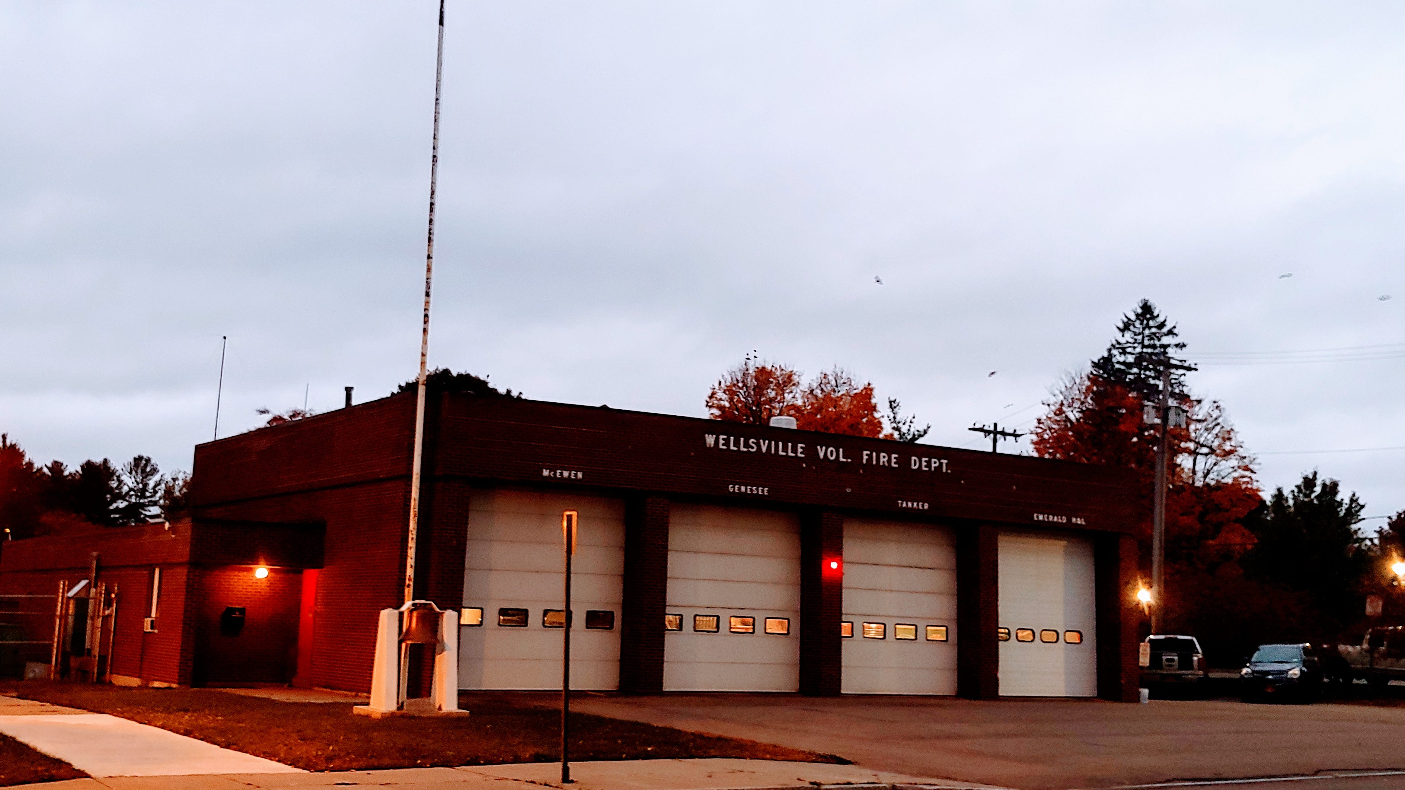 Town of Wellsville working towards new fire protection contract