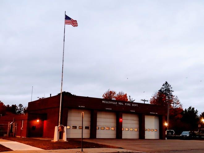 Wellsville Fire Department headquarters.