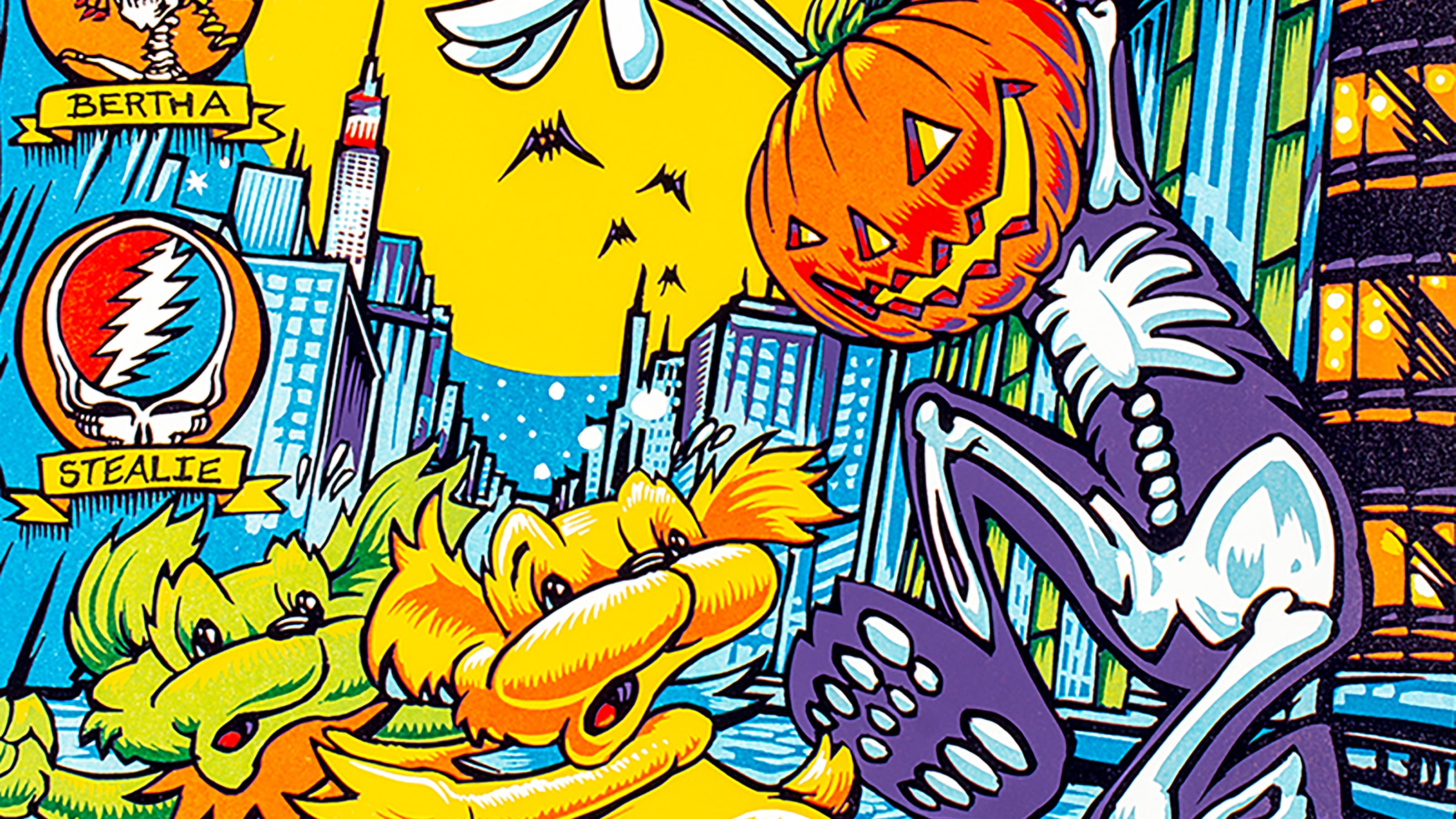 Deadhead Halloween Grateful Dead Dead And Company Releases And Tributes