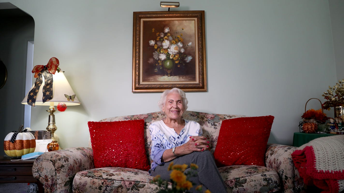 She found love in a war zone, then bought a house for $5: A WWII bride's story