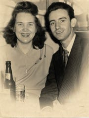 Alice and John Lawson in a photo taken in 1948. 