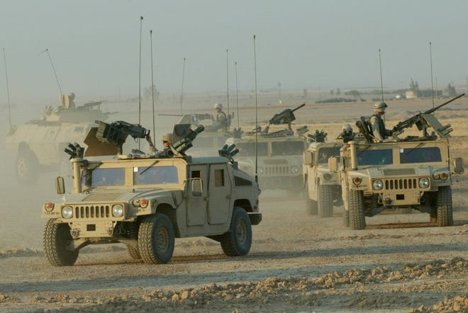 Operation Desert Storm made the military Humvee into an American hero.
