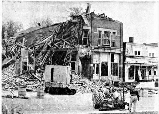 The original Elks building was demolished in 1967.
